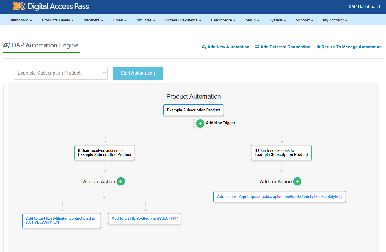 Key Features: automation